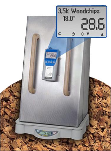 BM Biomass Moisture Content Meter