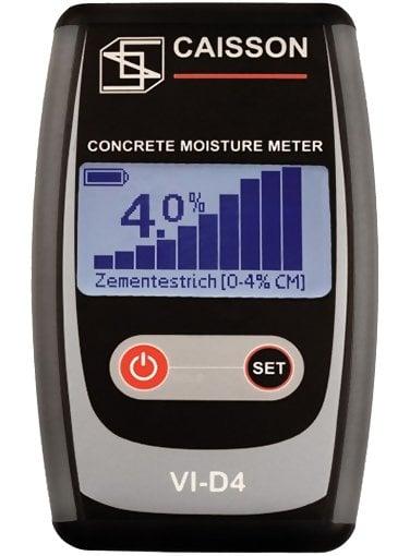 Caisson VI-D4 Concrete Moisture Meter
