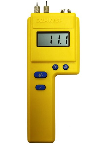 Delmhorst P-2000W/CS Moisture Meter with Carrying Case