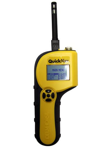 Delmhorst QuickNav 3-in-1 Moisture Meter
