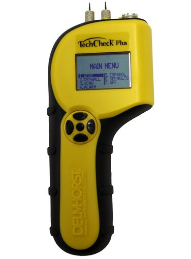 Delmhorst TechCheck Plus Moisture Meter for Building Inspection