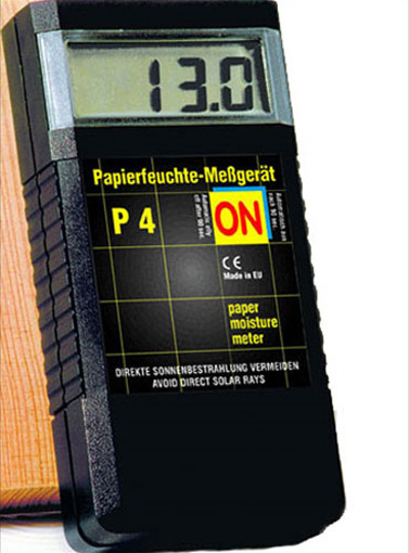 P4 Portable Paper Moisture Meter for Painted Papers, Range 0% to 8%