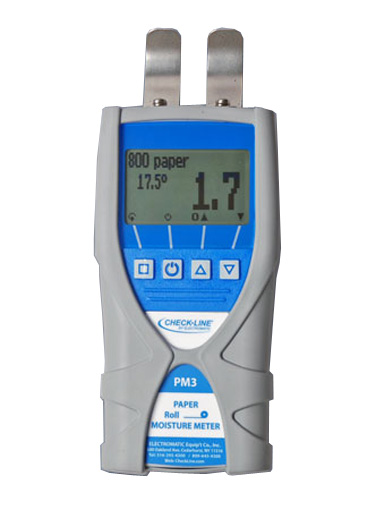 PM3 Paper Roll Moisture Meter