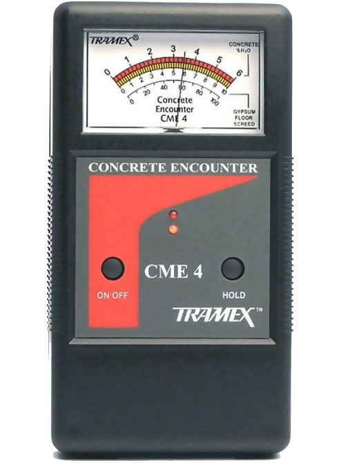 Tramex CME4 Concrete Moisture Meter Encounter