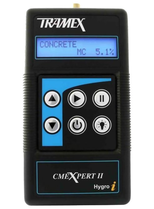 Tramex CMEX2 CMEXpert II Concrete Moisture Encounter Expert CMEX II