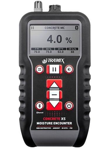 Tramex CMEX5 Concrete Moisture Encounter X5