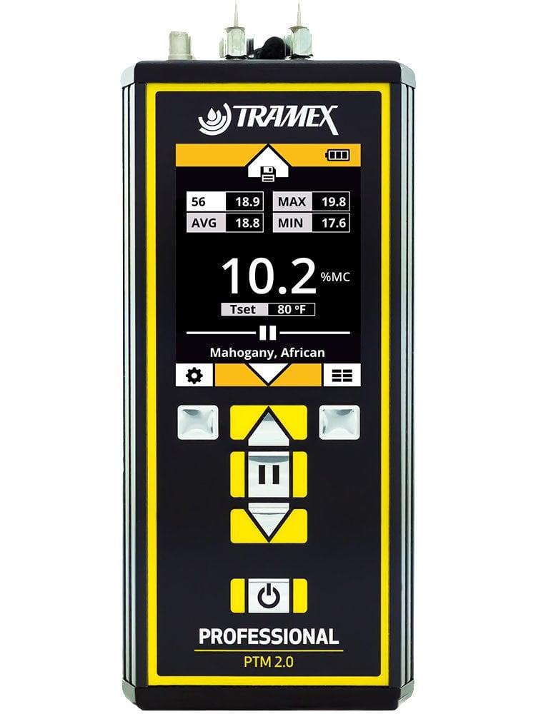 Tramex PTM2.0 Professional Pin Type Wood Moisture Meter