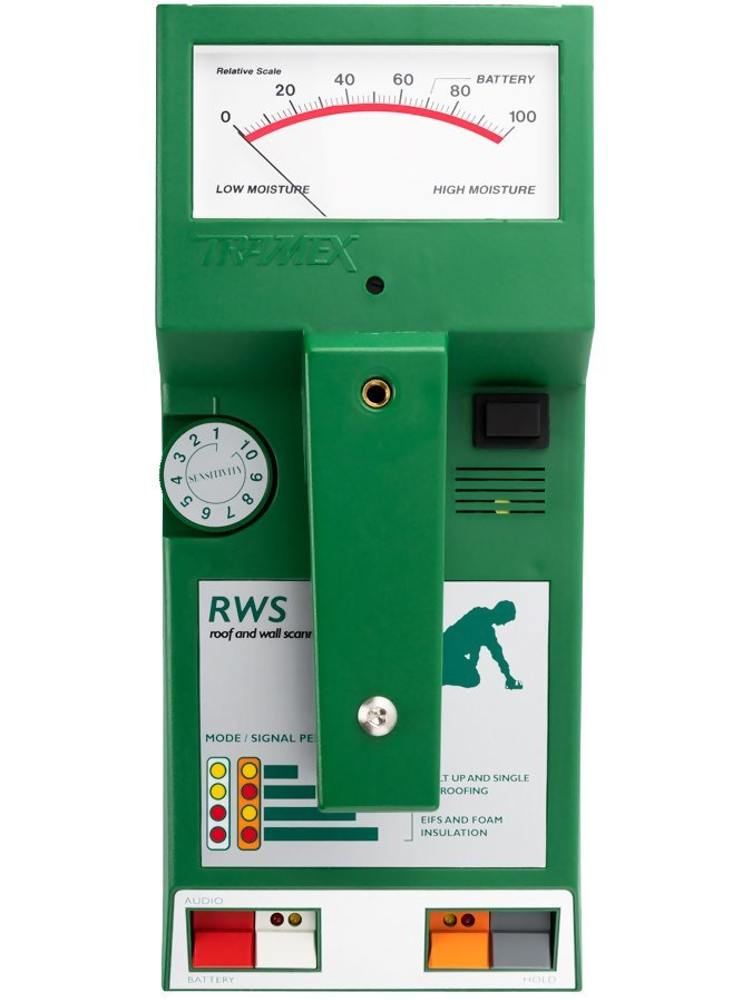 Tramex RWS Roof Moisture Meter and Wet Wall Scanner